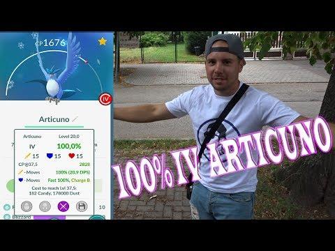 Pokémon GO - 100% IV ARTICUNO CATCH + BEST MOVE