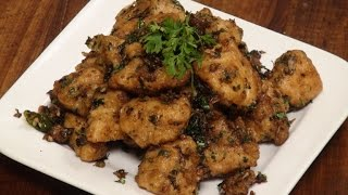 Stir Fried Garlic Chicken With Coriander | Sanjeev Kapoor Khazana