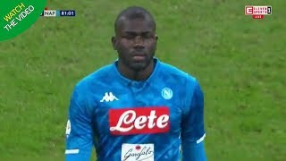 KOULIBALY SENT OFF AND SUFFERS RACIAL ABUSE AGAINST INTER!