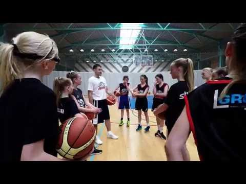 Copenhagen FUTURE elite basketball camp, summer 2016