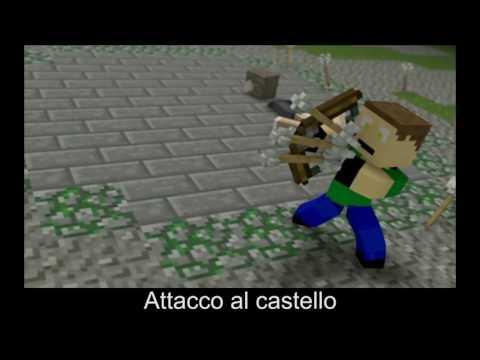 "Minecraft: ♪ ""Castle Raid"" (Sub. ITA) (Original Song by Dwayne Russell)"