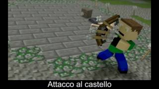 "Minecraft: ♪ ""Castle Raid"" (Sub. ITA) (Original Song by Dwayne Russell)"