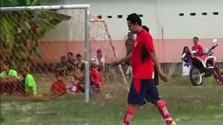 BABAK 2 Sportifitas Jangan T4wuran Sepak Bola Antar RT Desa Kedaton RT 14 vs RT 9 HUT RI ke 74
