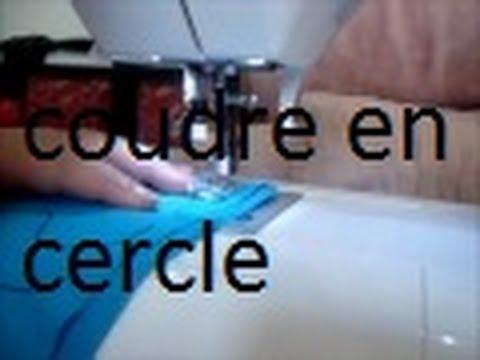 Apprendre a coudre en cercle youtube - Fabriquer un canape avec un matelas ...