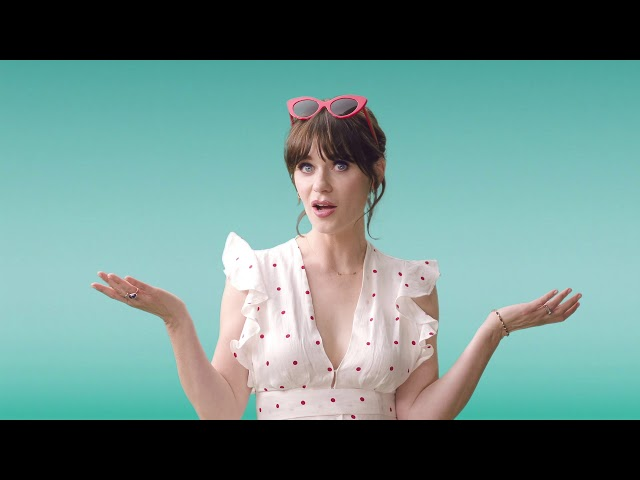 Zooey Deschanel + Crocs