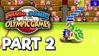 Mario & Sonic at the Olympic Games Tokyo 2020 Story mode Part 2 Gameplay Walkthrough