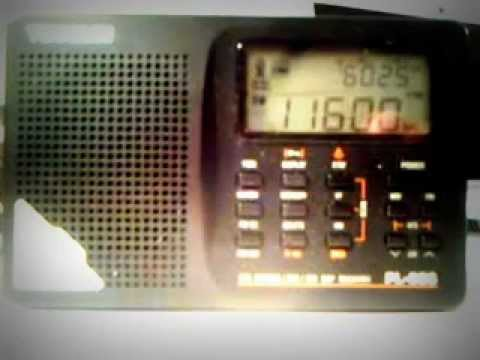 Radio Libya 11600 kHz : antenna test