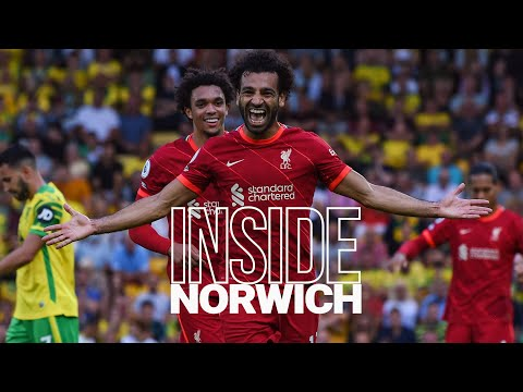 Inside Norwich: Norwich City 0-3 Liverpool |  Visiting winger bounces when Reds win on opening day