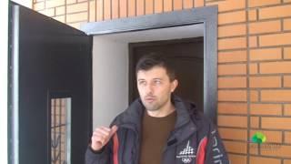 видео Входная группа в частный дом из кирпича