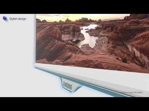 samsung monitor se370 einfach laden ohne kabel youtube. Black Bedroom Furniture Sets. Home Design Ideas