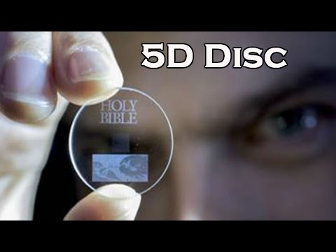 5D Disc - Eternal 5D Data Storage could record the History of Humankind