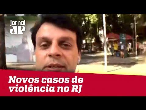Dois Adolescentes Envolvidos Em Novos Casos De Violência No RJ | Jornal JP