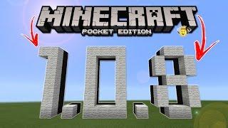 ⭐️Nova versão Minecraft Pocket Edition 1.0.8 Oficial📥