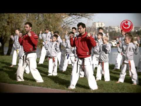"""Тренировка карате """"Top-fighters From Georgia"""" (СК """"Учидеши"""", г.Киев, Позняки)"""