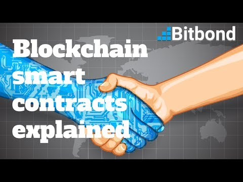 Blockchain smart contracts explained - Bitbond #TOA17