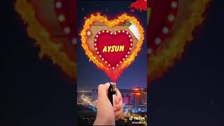 Aysun adina aid video