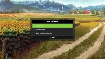 733 FS17 Multiplayer Tiedotus ja tutustumme peliServerit
