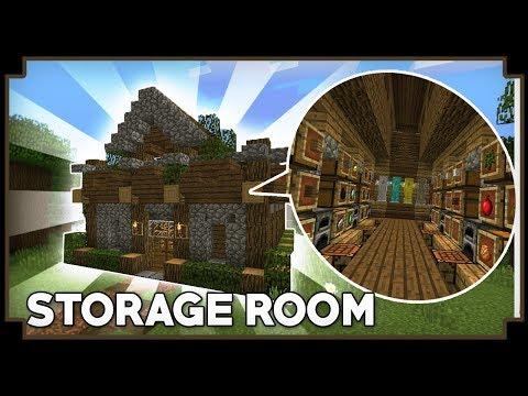CARA MEMBUAT STORAGE ROOM - Minecraft Tutorial