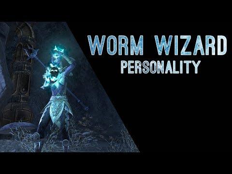 Worm Wizard Personality - Dragon Bones DLC The Elder Scrolls Online ESO