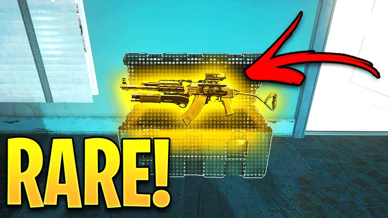 WARZONE: FINDING A 0.01% CHANCE RARE LOOT! - Warzone Impossible & Lucky Moments #2