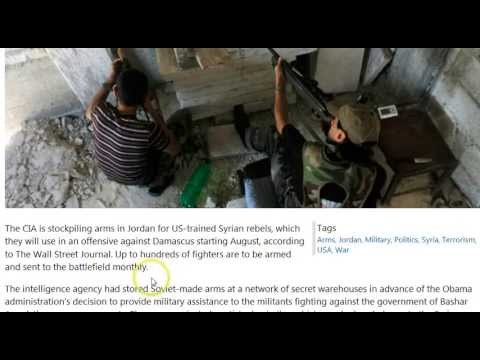 GGN: Al-Nusra Leader is CIA, Jordan Grows Wary of US's Syria Ops, Anti-Immigration=Islamaphobia