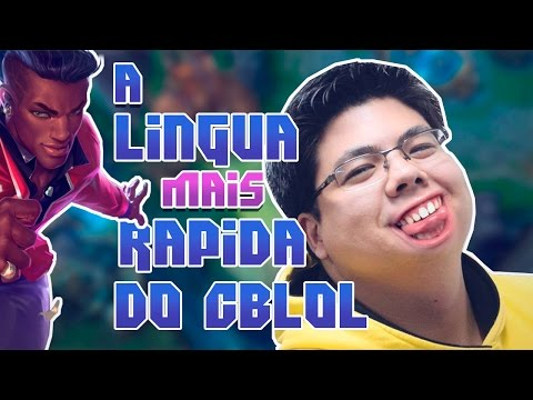 A LINGUA MAIS RAPIDA DO CBLOL - ESA STREAM #1