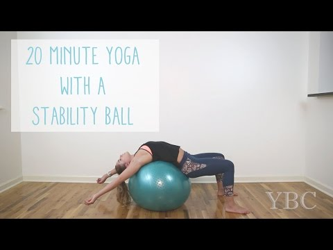 20 Minute Yoga with a Stability Ball