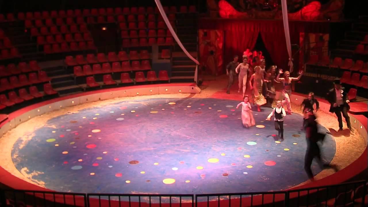 anniversaire au cirque villeneuve la garenne