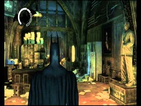 Arkham Asylum Hidden Room Warden S Office