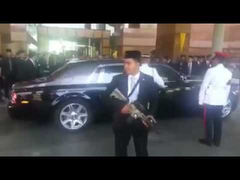 Sultan Muhammad V Arrives In KL For Royal Installation Ceremony