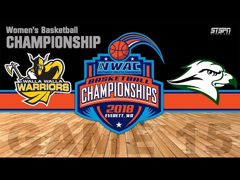 2018 NWAC Women's Basketball Championship - Walla Walla vs. Umpqua