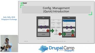 "Extend Configuration Management with ""Config Split"" and ""Config Ignore"" module - DrupalCampSG 2018"