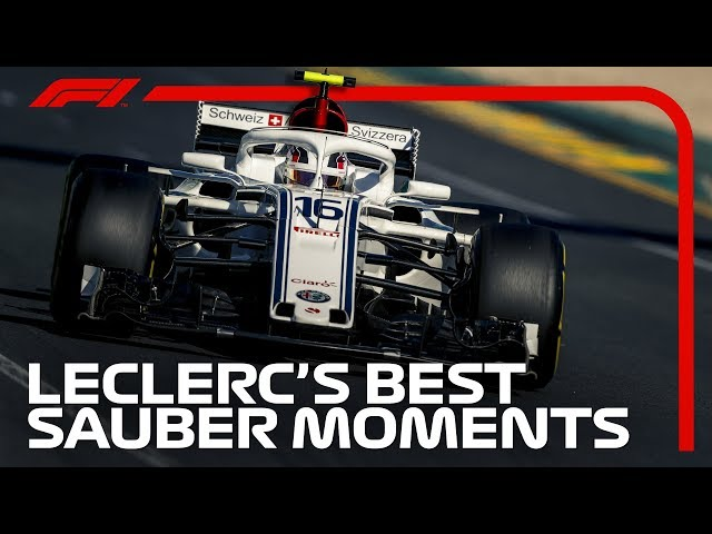 Charles Leclerc's Best Bits at Sauber