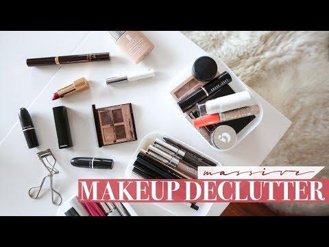 HUGE Makeup Declutter - Back to Basics | Mademoiselle