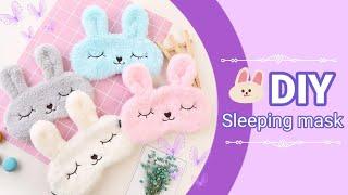 DIY Sleeping Mask - How To Make Easy Sleeping Eye Mask - Sleep Mask Pattern / handmade sleeping mask