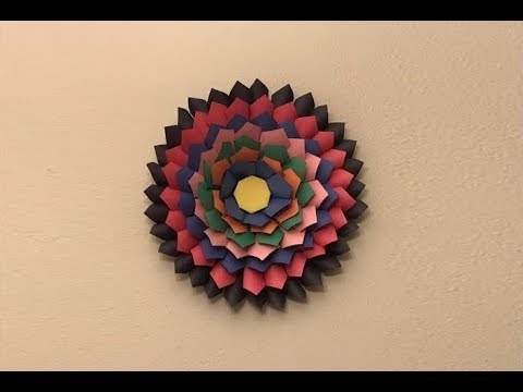 Diy Wall Decorations From Construction Paper Madebyfate