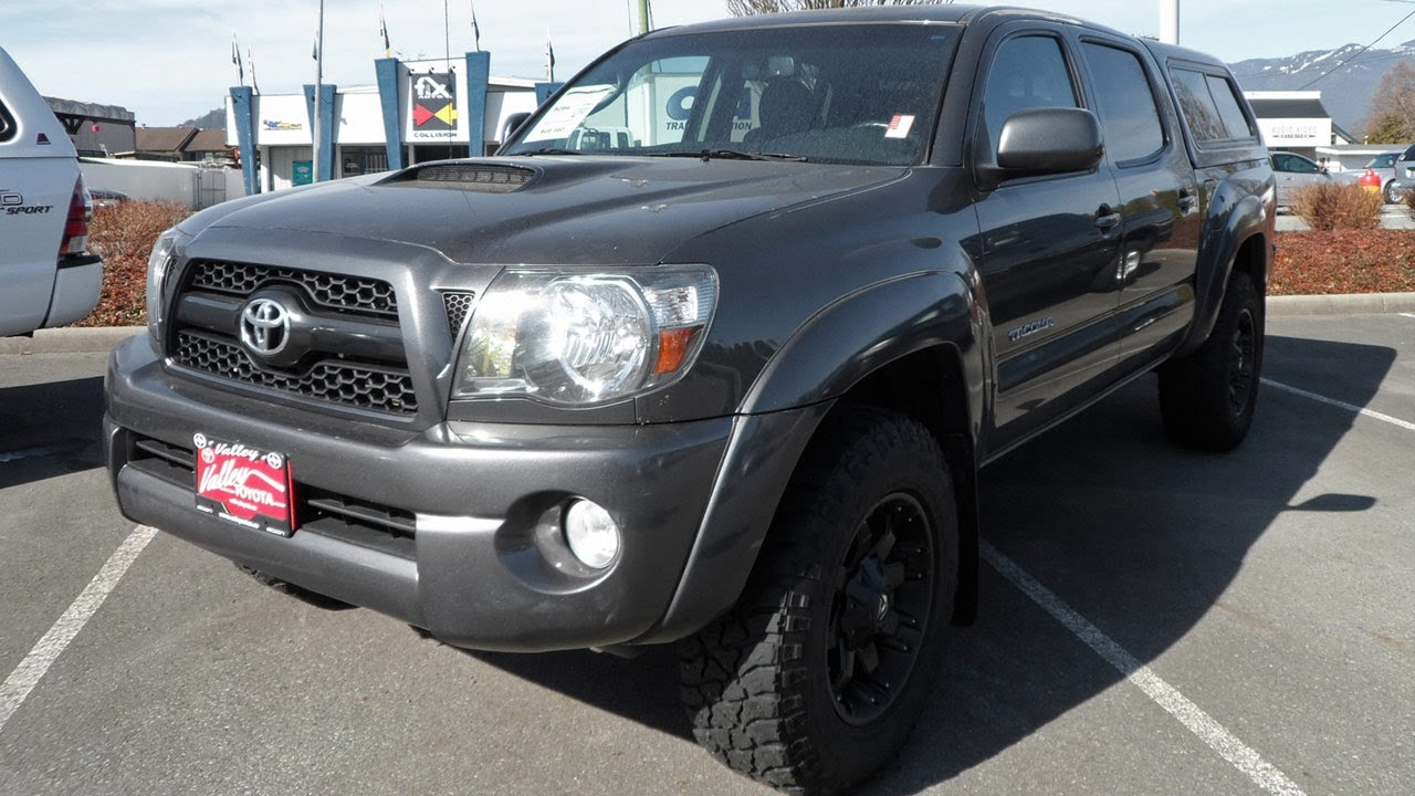 sold 2011 toyota tacoma trd sport preview for sale at valley toyota in chilliwack b c. Black Bedroom Furniture Sets. Home Design Ideas
