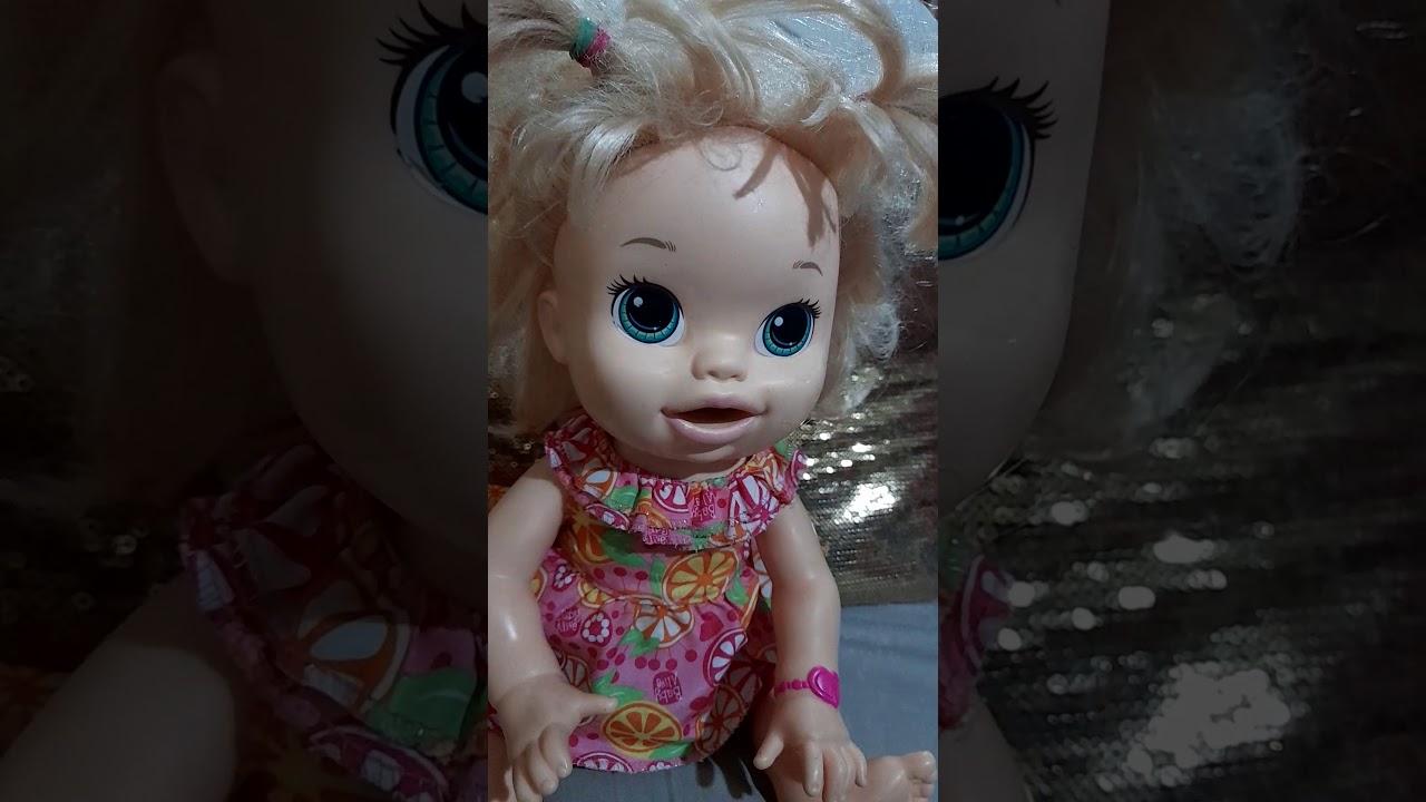 Sara comiditas baby alive