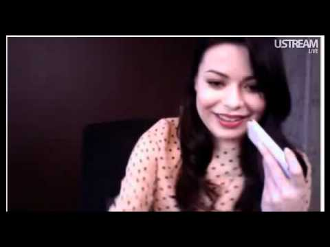miranda cosgrove twitcam Jan 16, 2011.mp4
