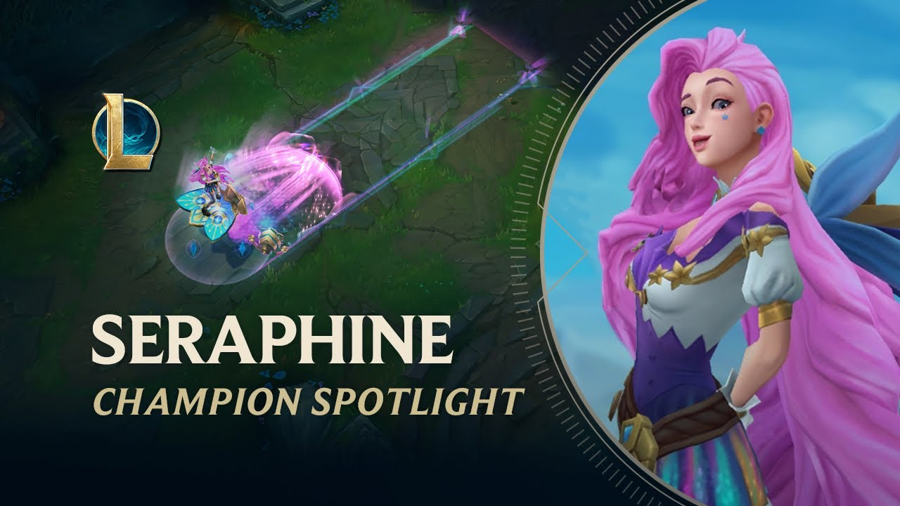 Download Seraphine Champion Spotlight   Gameplay - League of Legends