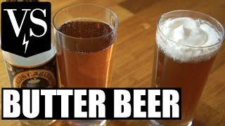 Butterscotch BEER vs. DIY BUTTER BEER | VERSUS
