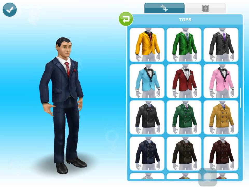 how to make a new sim on sims freeplay