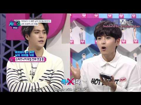 [Eng Sub] 140328 Super Idol Chart Show Heechul Phone Call