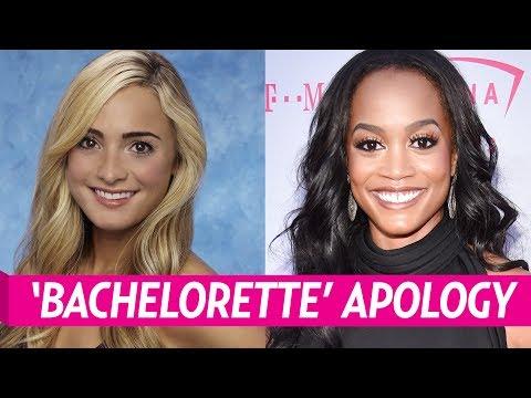 Leah Block Apologizes To Rachel Lindsay Over Racist Tweet