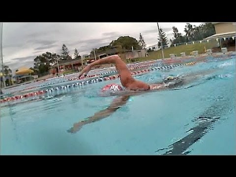 Swimming Technique: Jodie Swallow World Triathlon Champion