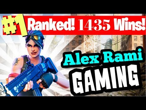 #1 WORLD RANKED 1435 SOLO WINS! - FORTNITE BATTLE ROYALE LIVE STREAM