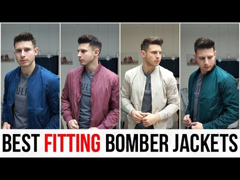 BEST FITTING BOMBER JACKETS FOR MEN IN 2018 (Asos, Pull&Bear, H&M, New Look, Bershka)