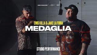 Смотреть клип Emis Killa & Jake La Furia - Medaglia