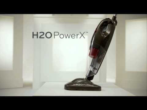 Thane H2O H20 PowerX 6 in 1 Steam Mop & Vac Vacuum Floor Carpet Cleaner Portable Handheld Steamer