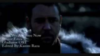 Gladiator (OST)- now we are free- english lyrics